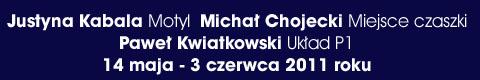Galeria xx1 - Justyna Kabala, Michał Chojecki, Paweł Kwiatkowski