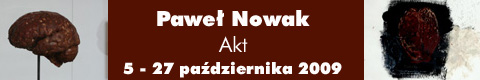 """Galeria xx1 - Paweł Nowak – """"Akt"""""""