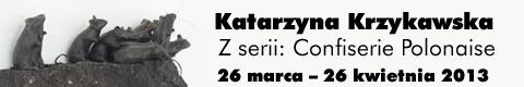 Galeria xx1 - Katarzyna Krzykawska: <br> Z serii Confiserie Polonaise