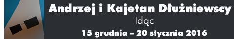Galeria xx1 - Andrzej i Kajetan Dłużniewscy<br> Idąc&#8230;