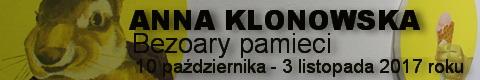 Galeria xx1 - Anna Klonowska  Bezoary pamięci
