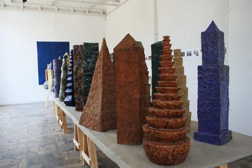 Piotr Kasprzak - Wystawa rzeźb. Ceramic City