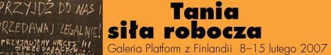 Galeria xx1 - Tania fińska siła robocza Badanie alternatywnej ekonomii.