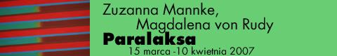 Galeria xx1 - Zuzanna Mannke & Magdalena von Rudy