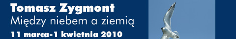 """Galeria xx1 - Tomasz Zygmont – """"Między niebem a ziemią"""""""