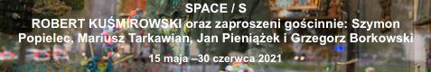 Galeria xx1 - ROBERT KUŚMIROWSKI  S / PACE / S